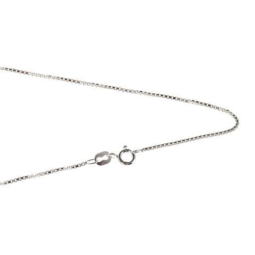 Venetian chain in sterling silver 50cm 1