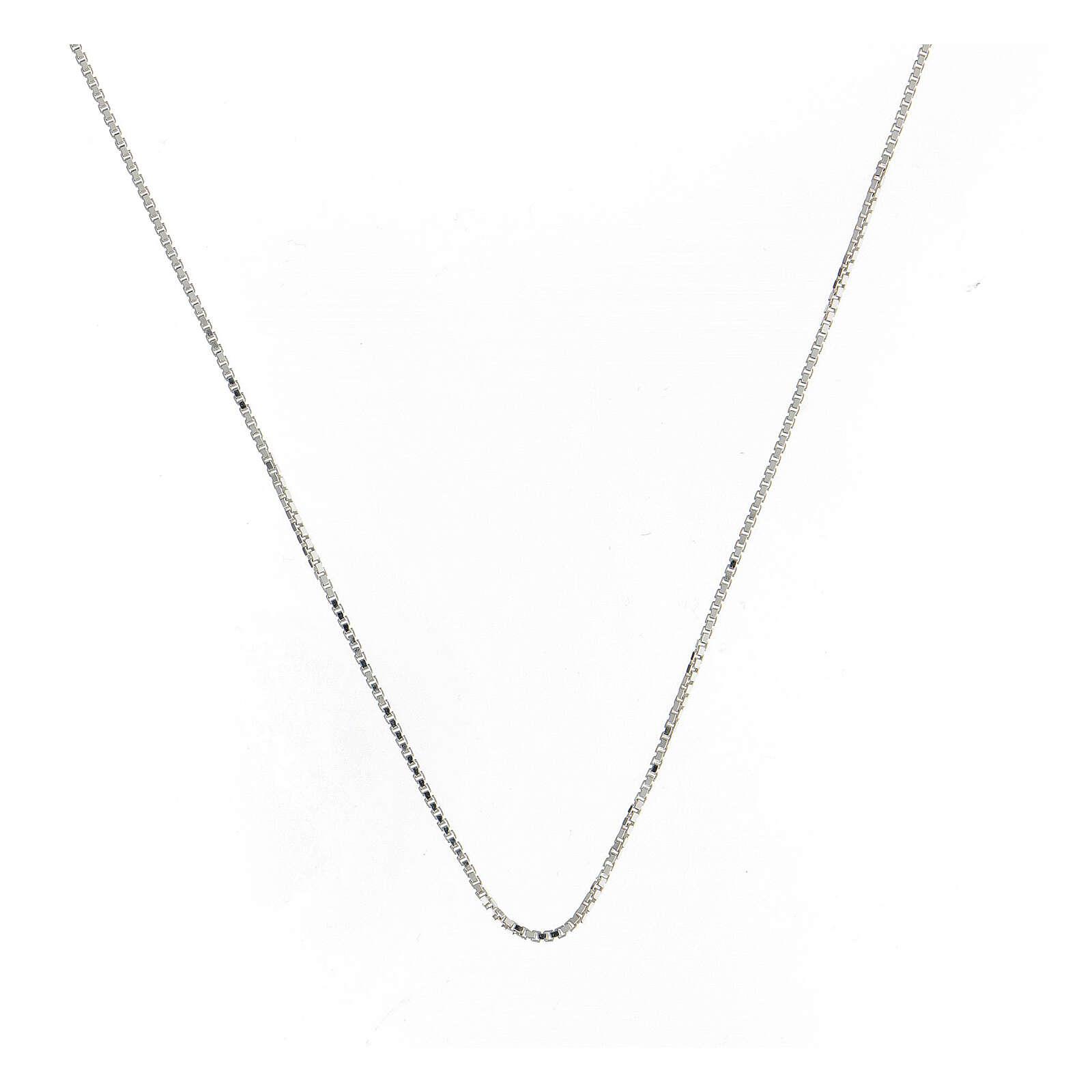 Catena veneta argento 925 lung. 50 cm 4