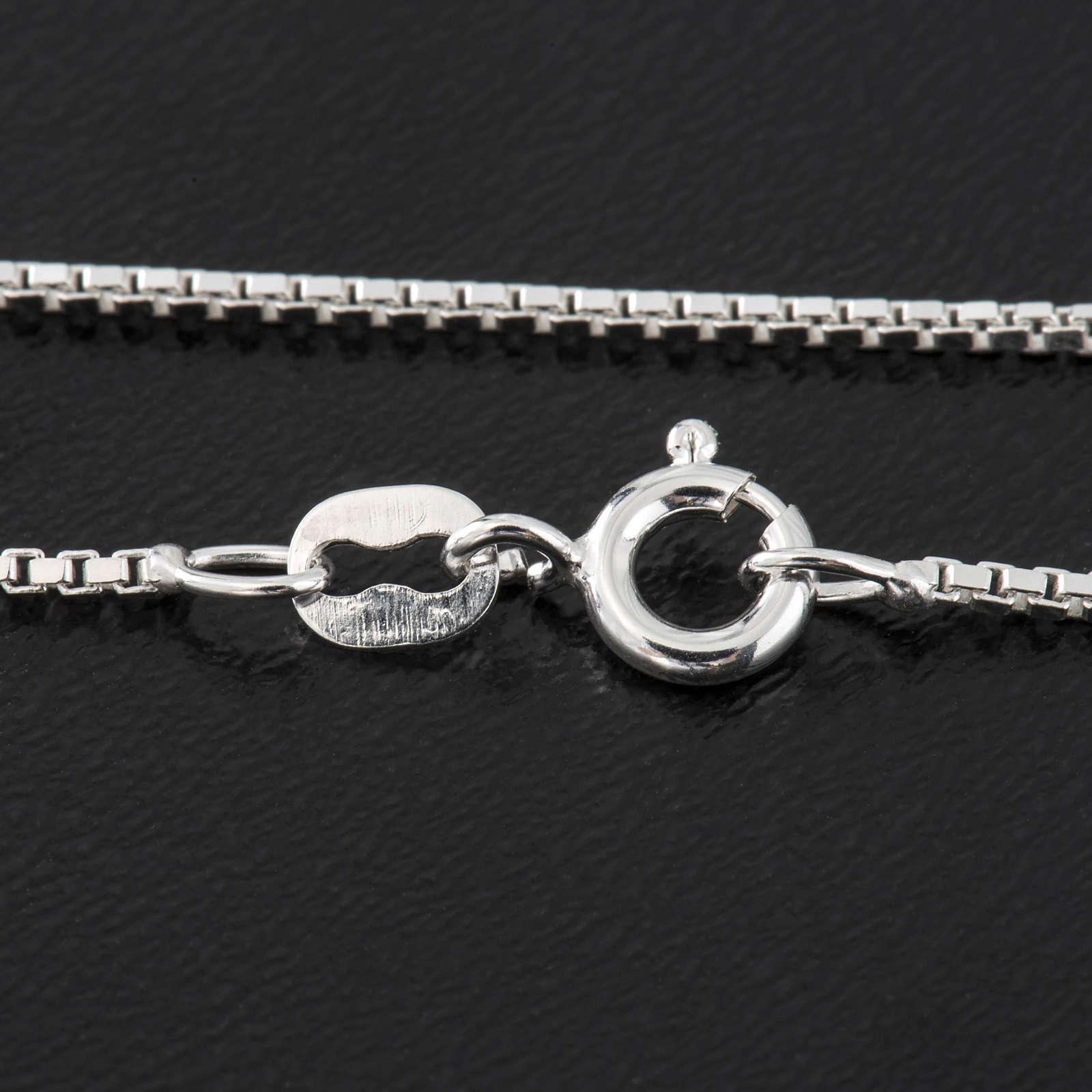 Venetian chain in sterling silver 50cm 4