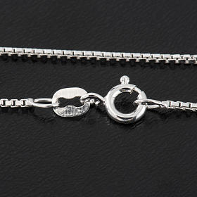Venetian chain in sterling silver 50cm s2