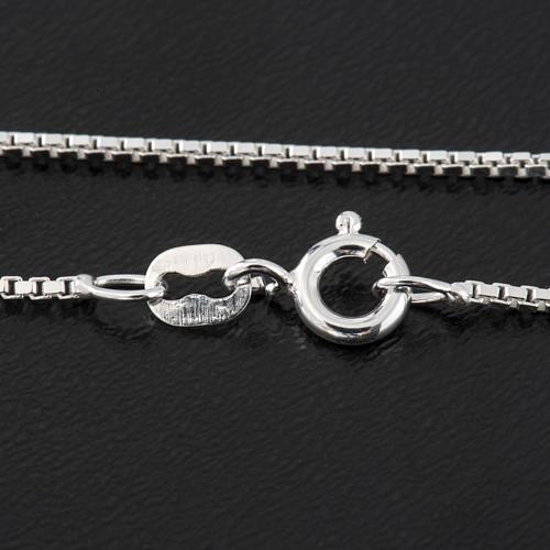 Venetian chain in sterling silver 50cm 2