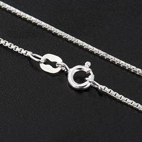 Venetische Halskette rhodiert Silber 925, 60 cm lang s2