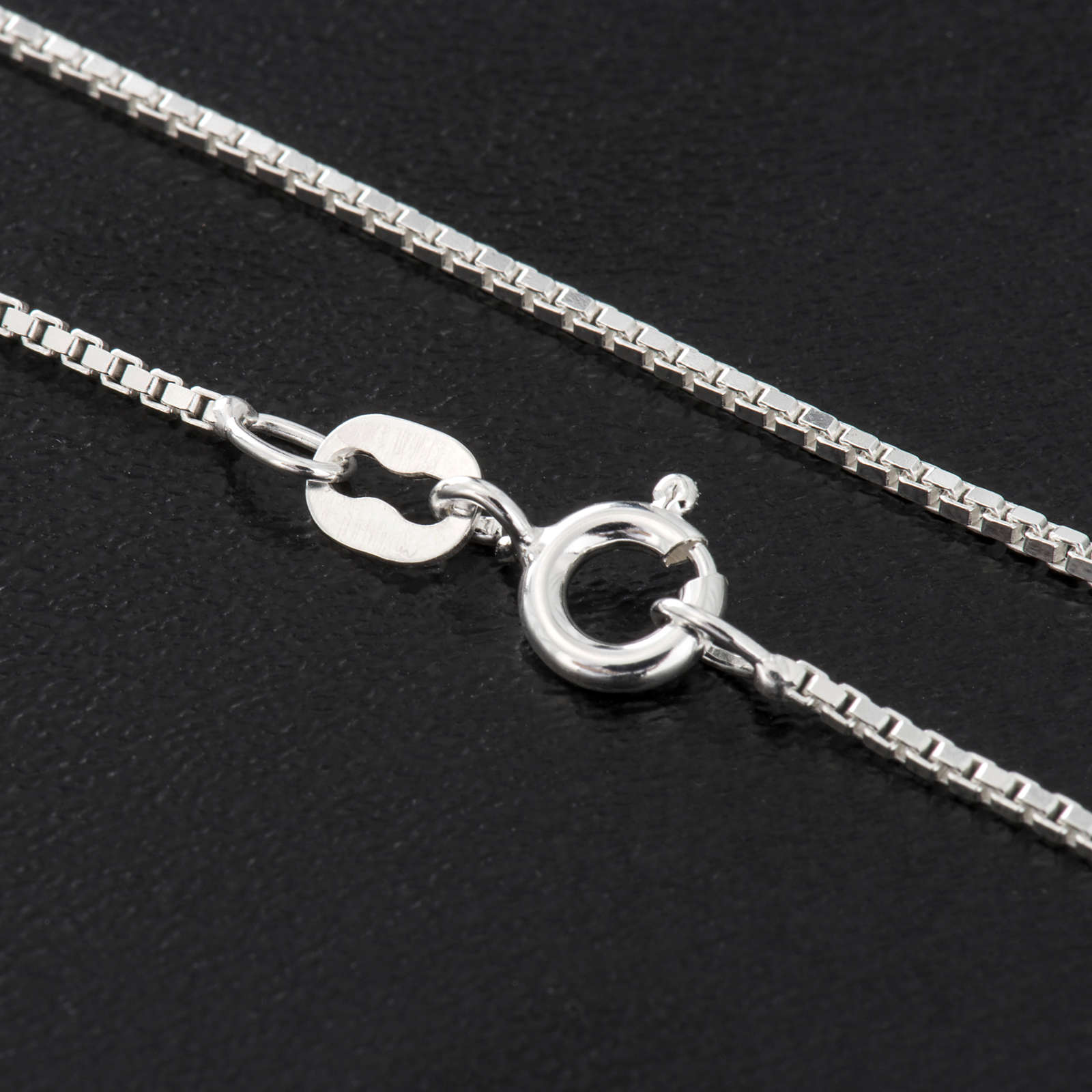 Corrente Veneziana prata 925 radiada comprimento 60 cm 4