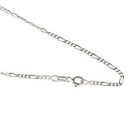Corrente Fígaro prata 925 comprimento 50 cm s1