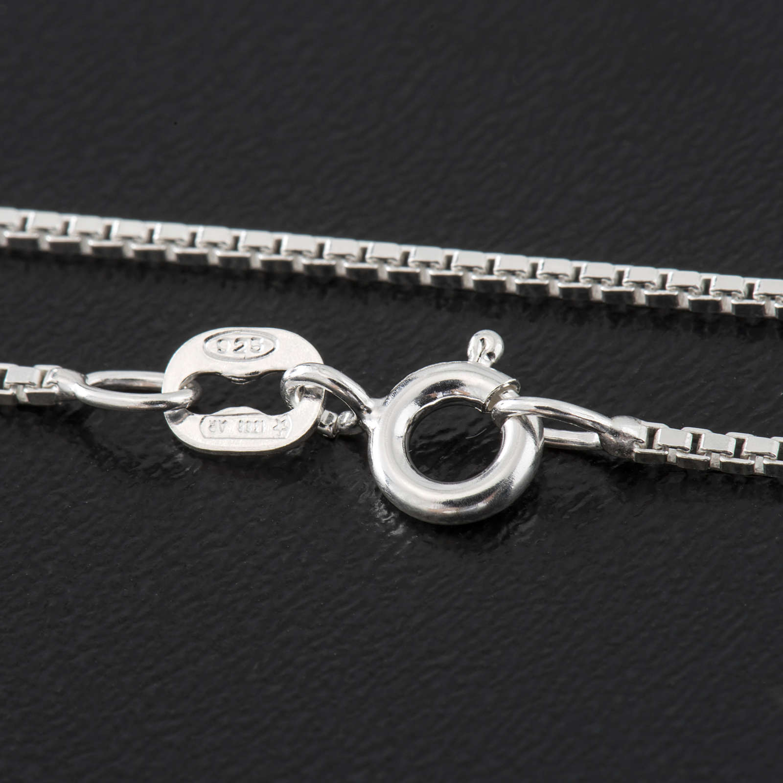 Venetian chain in sterling silver 40cm 4