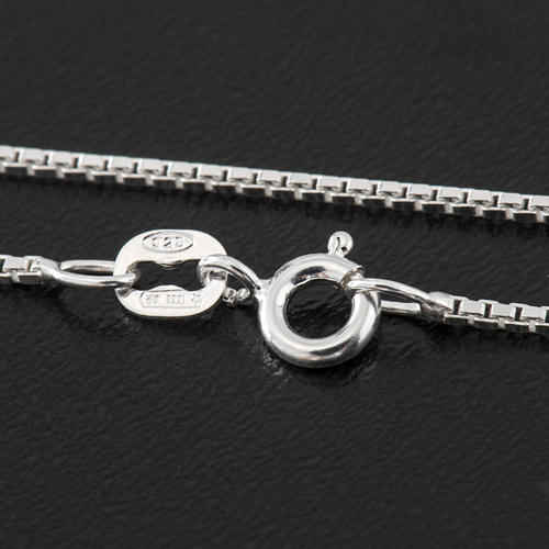 Venetian chain in sterling silver 40cm 2