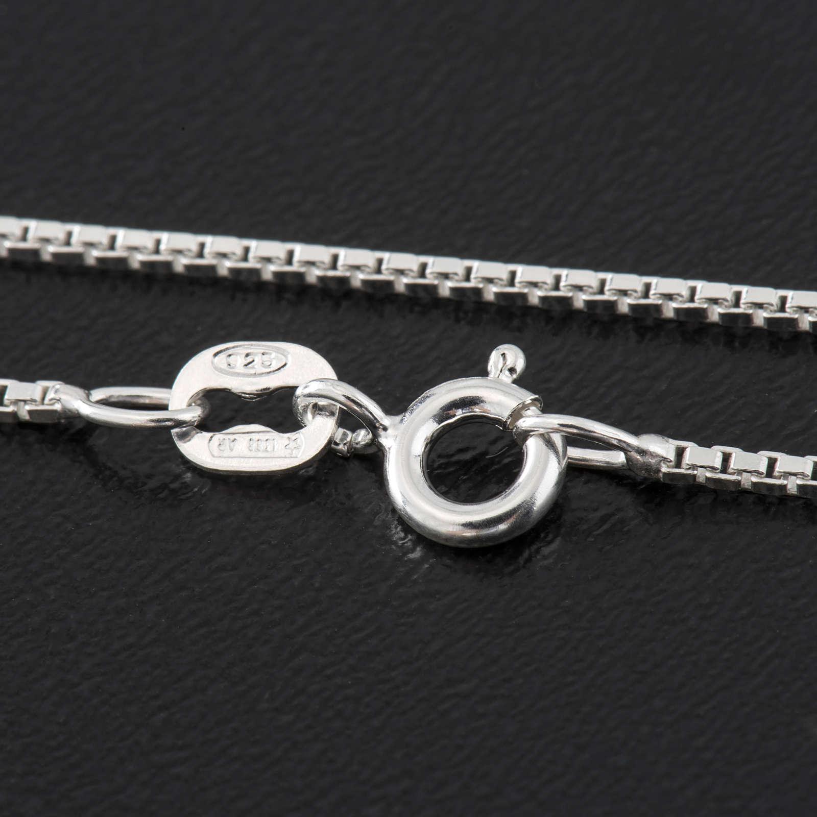 Venetian chain in sterling silver 40cm 4