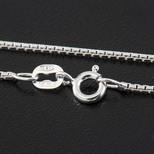 Venetian chain in sterling silver 40cm 2