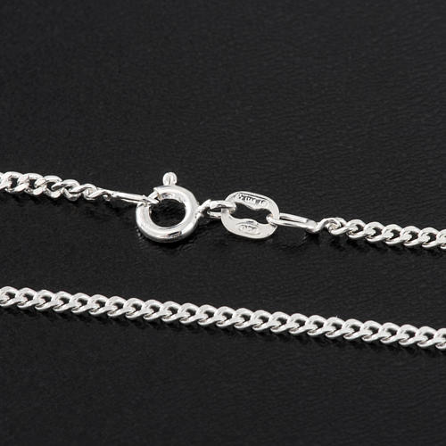 Grumetta chain in sterling silver 60cm 2