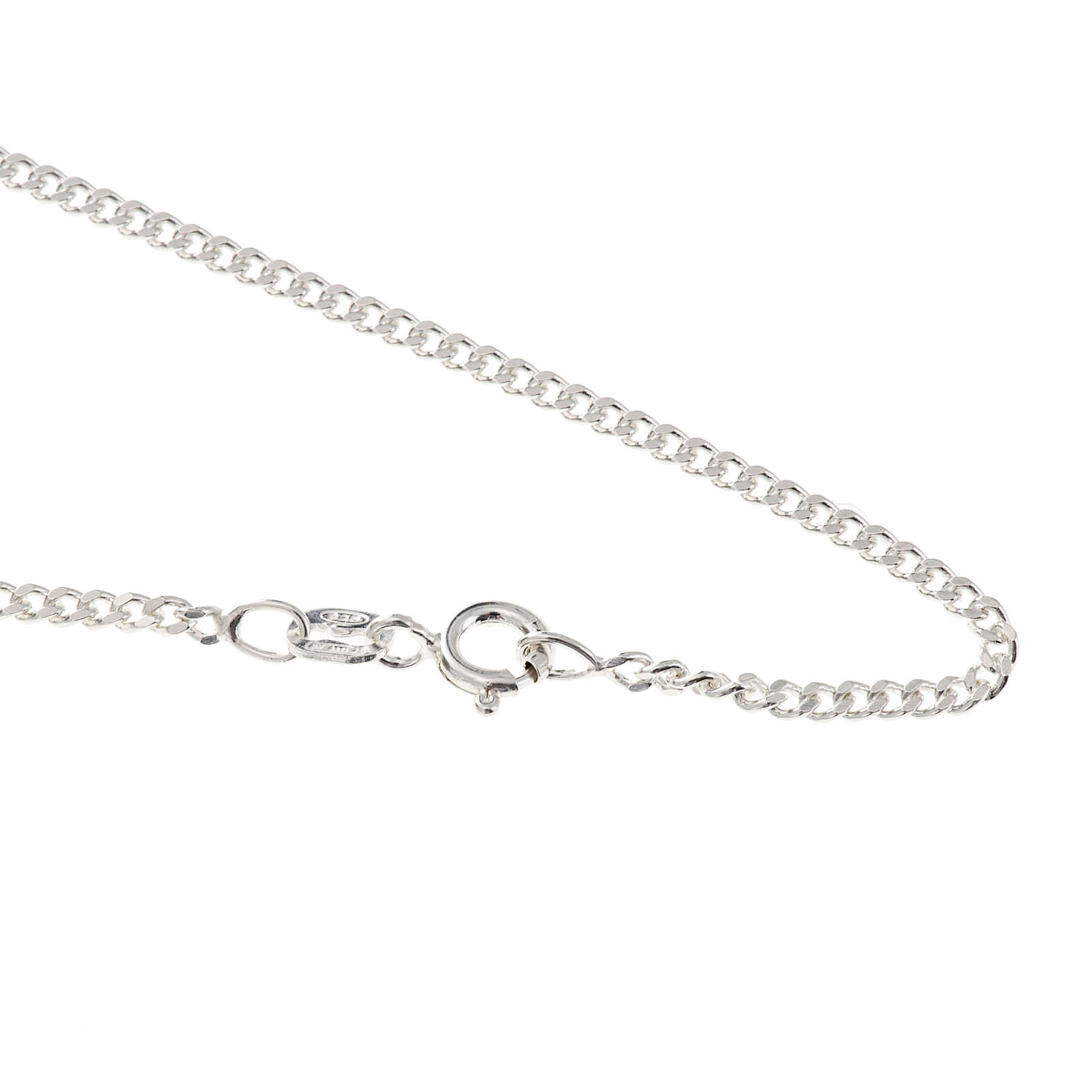 Grumetta chain in sterling silver 60cm 4