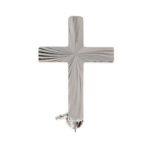 Cruz clero de plata 925 de 2cm 1