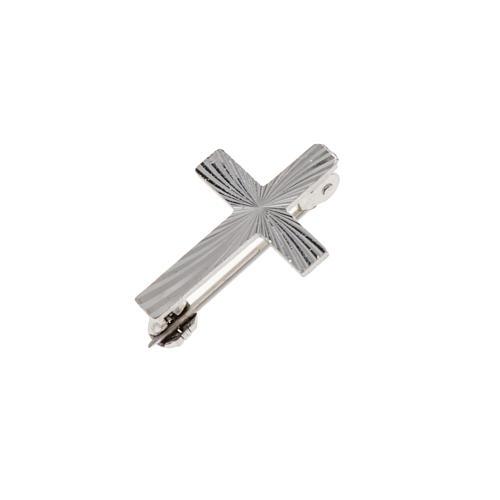 Cruz clero de plata 925 de 2cm 2