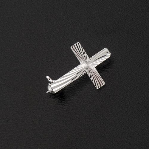 Cruz clero de plata 925 de 2cm 3