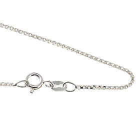 Venetische Halskette Silber 925 Länge 60 cm s1