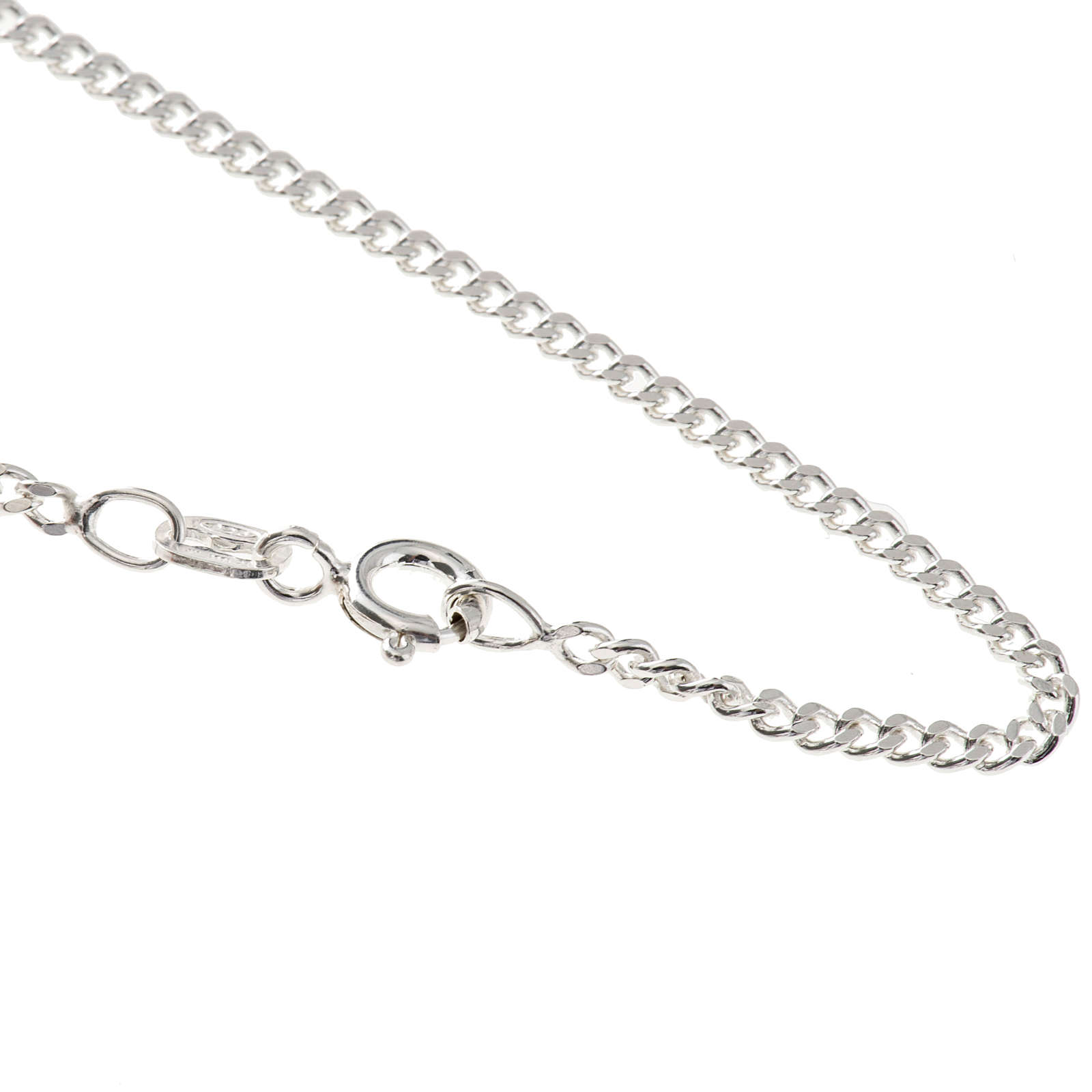 Grumetta chain in sterling silver 50cm 4