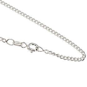 Catena grumetta argento 925 lunghezza 50 cm s1