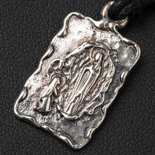 Médaille de Lourdes argent 800 2