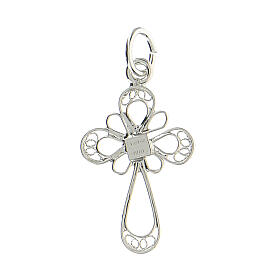 Croce in filigrana Argento 800 s2