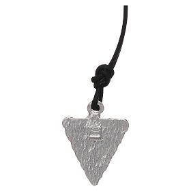 Medaglia triangolare Lourdes s2