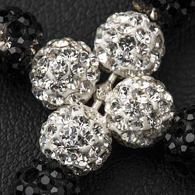 Cross with Swarovski pearls, 3 x 3,5 cm s5
