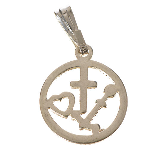 Faith Hope Charity pendant 5