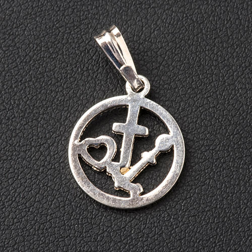 Faith Hope Charity pendant 3