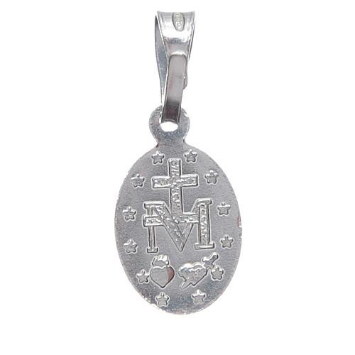Medaille wundertätig Silber 925 h. 1 cm 2