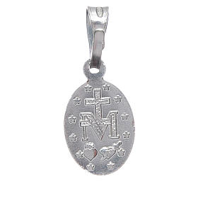 Miraculous medal in silver 925 1 cm h s2