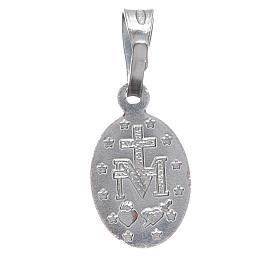 Medaglia miracolosa Argento 800 h. 1 cm s2
