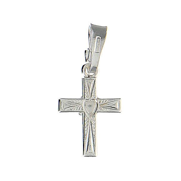 Croce con cuore al centro 4