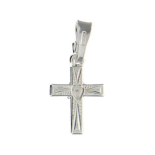 Croce con cuore al centro 1