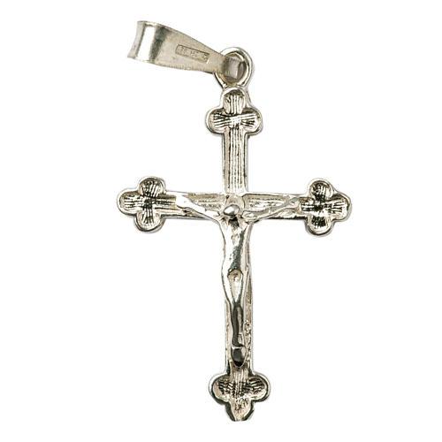 Croce trilobata Argento 925 1