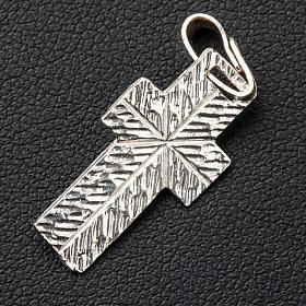 Krzyżyk zdobiony tył Srebro s3