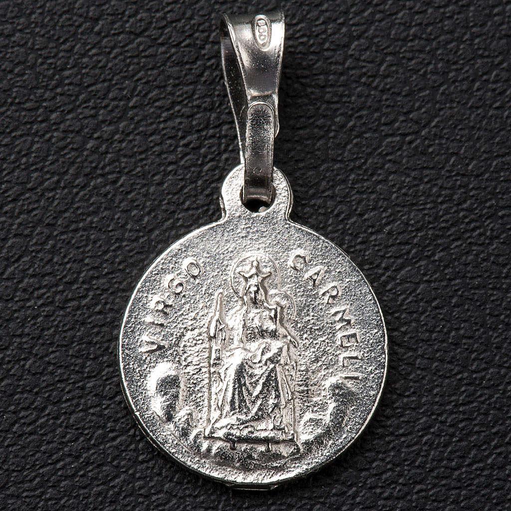 Escapulario de plata 925 diam 1 cm 4