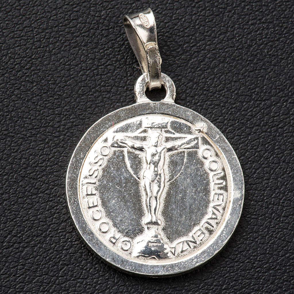 Scapolare argento 800 diam 2cm 4
