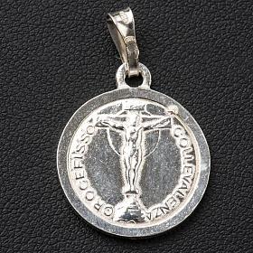 Scapolare argento 800 diam 2cm s2