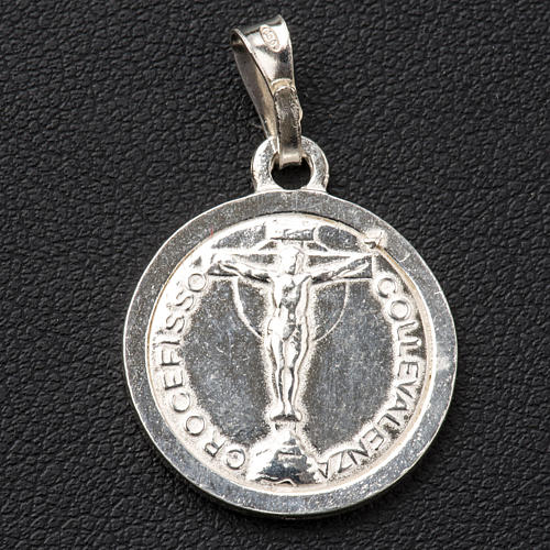 Scapolare argento 925 diam 2cm 2