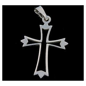 Croce argento 925 sagoma s2