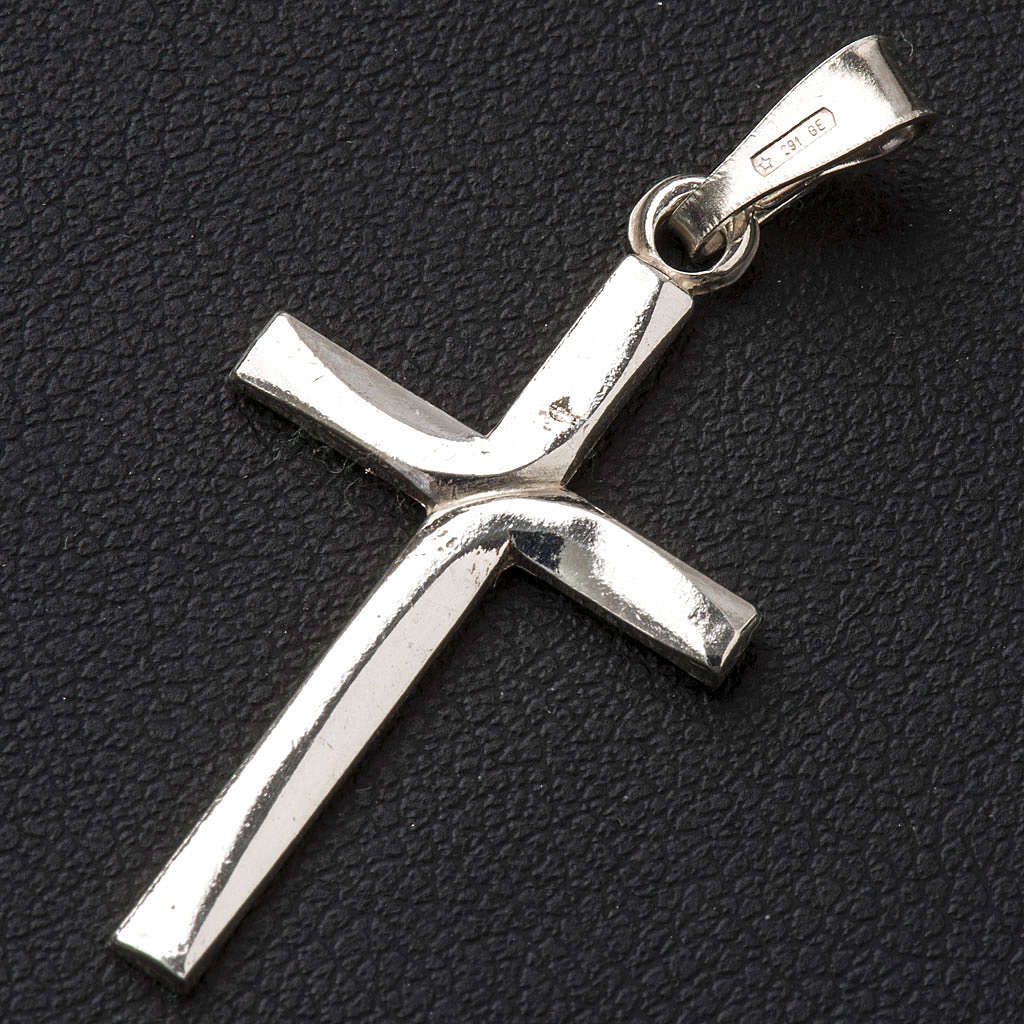 Pendant cross in 925 silver 2x3 cm 4