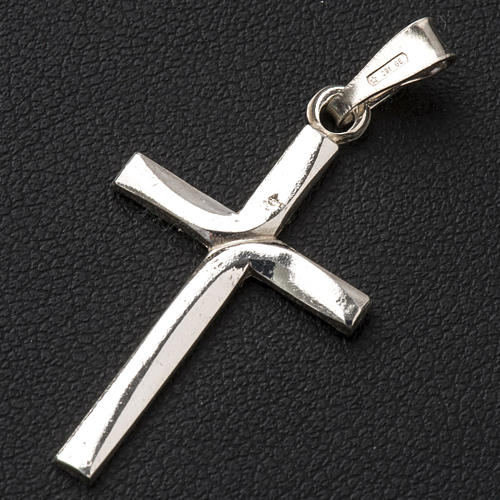 Pendant cross in 925 silver 2x3 cm 2