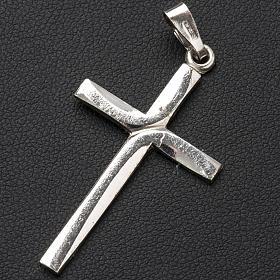 Pendant crucifix in 925 silver 2,5x3,5 cm s2