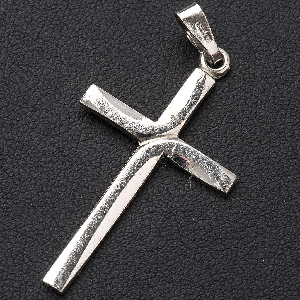 Wisiorek forma krzyża 3.5x2.5 cm srebro 925 4