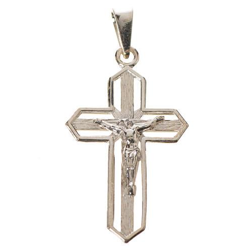Crucifijo dorado de plata 925 4
