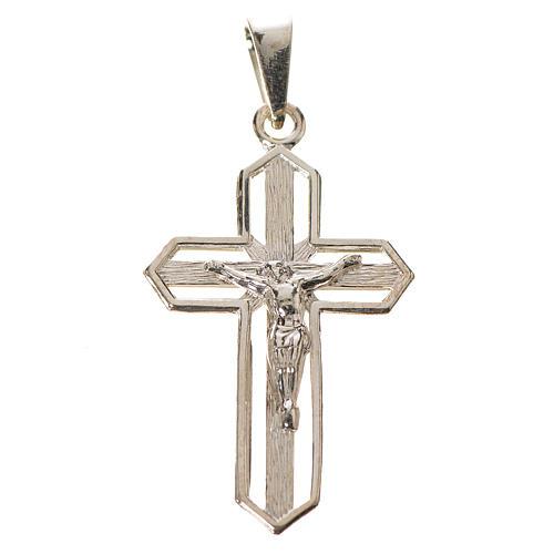 Wisiorek krucyfiks złocony srebro 925 1