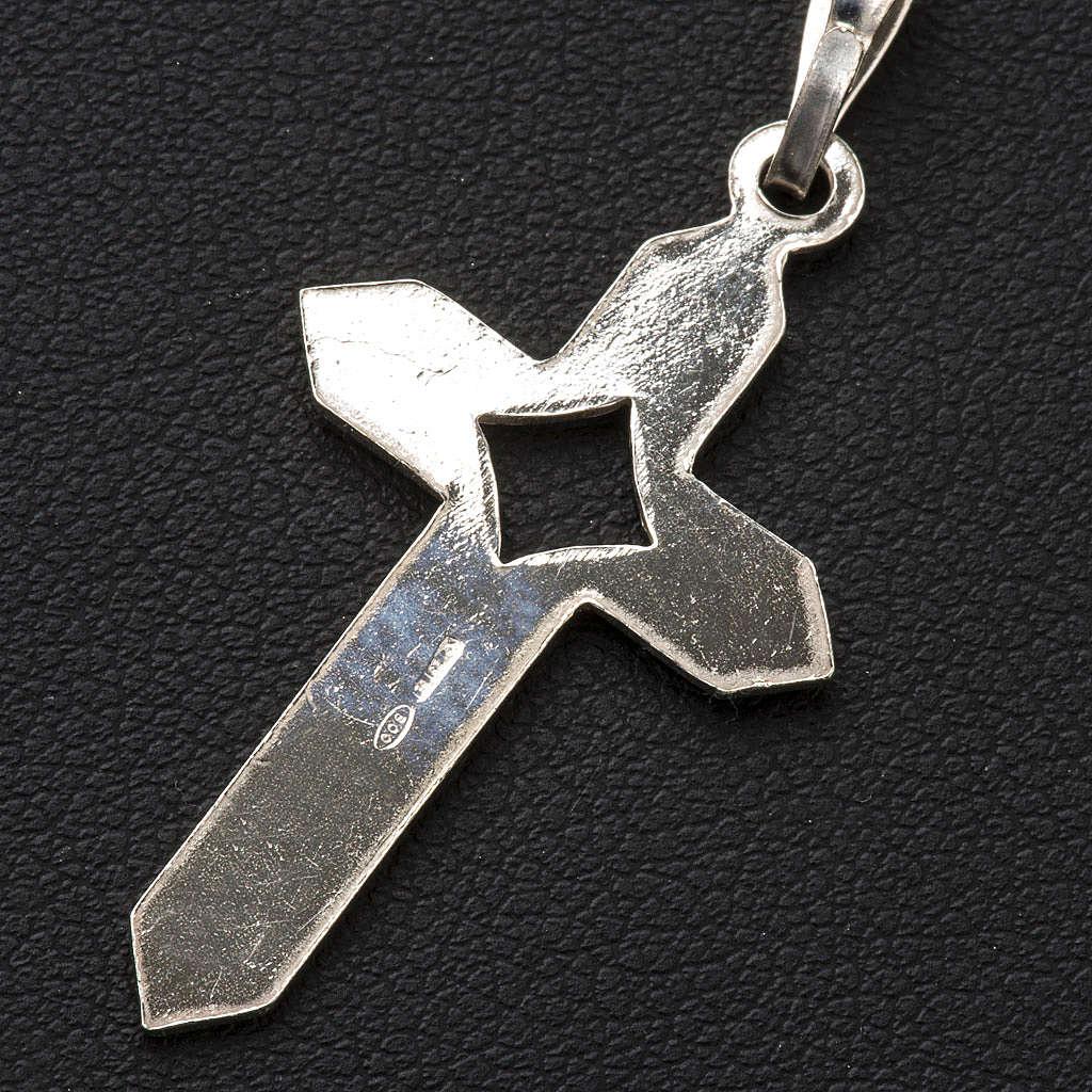 Croce Argento spigata 4