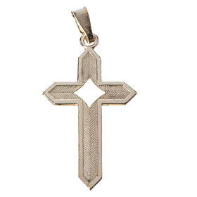 Croce Argento spigata s4