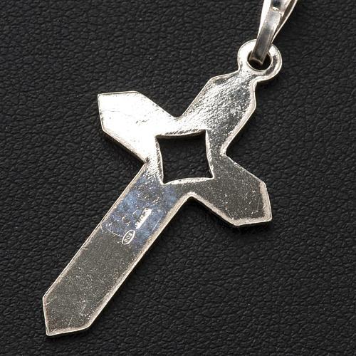 Croce Argento spigata 3