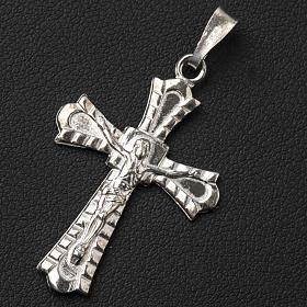 Crucifix gotique argent 800 s3