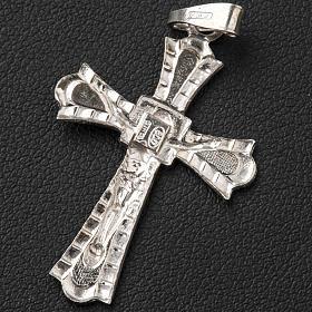 Crucifix gotique argent 800 s5