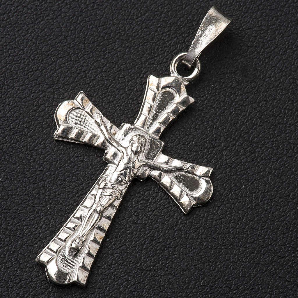 Crocefisso gotico Argento 800 4